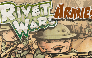 Rivet Wars Logo Armies
